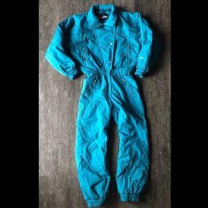 Vintage 80's Snuggler ski suit